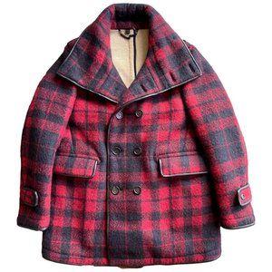 Burberry Prorsum Fall 2010 Buffalo Red Plaid Coat